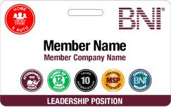 BNI Utah South Name Badge Order Form